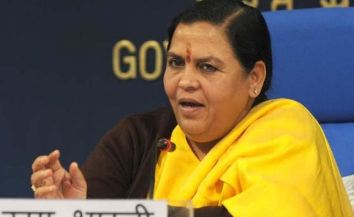 Will learn water conservation from Israel: Uma Bharati